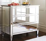 Park Mirrored Dresser, Champagne finish