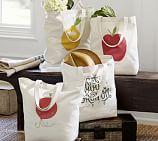 Sentiment Cotton Screen Print Tote