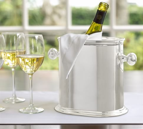 Hotel Silver-Plated Double Wine Cooler
