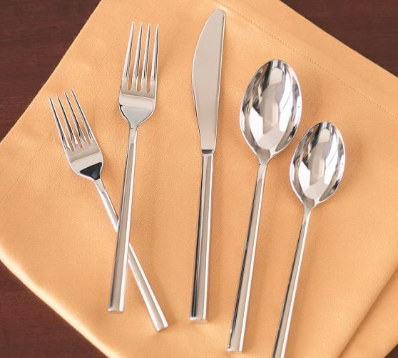 Luna Flatware, 5-Piece Place Setting