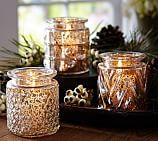 Harvest Eclectic Mercury Jars, Set of 3