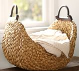Beachcomber Wood Handle Basket