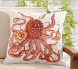 Indoor/Outdoor La Paz Octopus Pillow, 20
