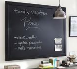 "Framed Chalkboard, 36 x 24"", Black"