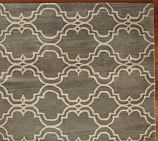Scroll Tile Rug Swatch, 18 x 18