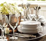 Caterer's Dinnerware Set, Salad/Dessert Plates, Set of 12