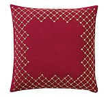 Embellished Mono Dec Pillow Cover, 18