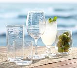 PB Classic Outdoor Double Old-Fashioned Glass Set of 6, Clear