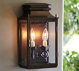 Bolton Sconce, Bronze finish