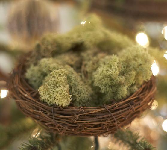 Natural Nest Ornament
