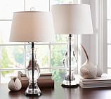 Marson Crystal Bedside Lamp Base