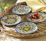 Talavera Melamine Small Bowl, Set of 4