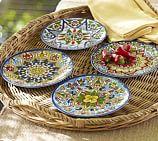 Talavera Melamine Salad Plates, Set of 4