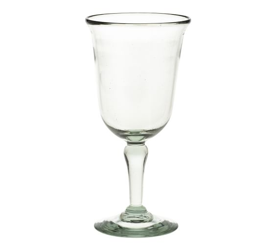 Casa Recycled Glass Goblet, Set of 6