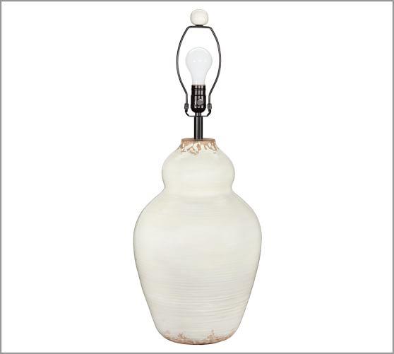 Evelyn Ceramic Table Lamp Base Pottery Barn