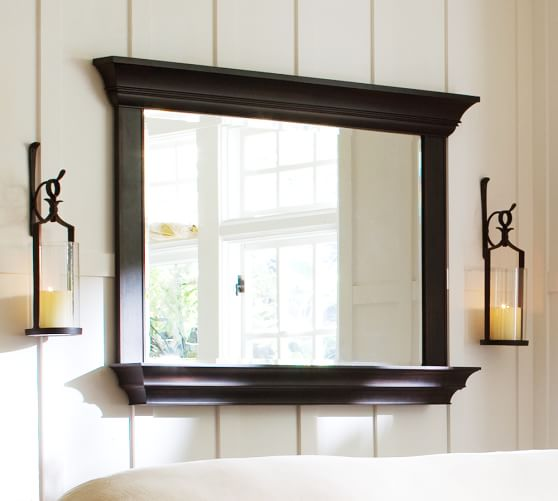 Henley Mirror with Shelf