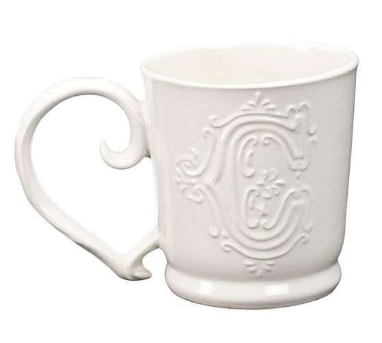 Alphabet Mug, Letter, C