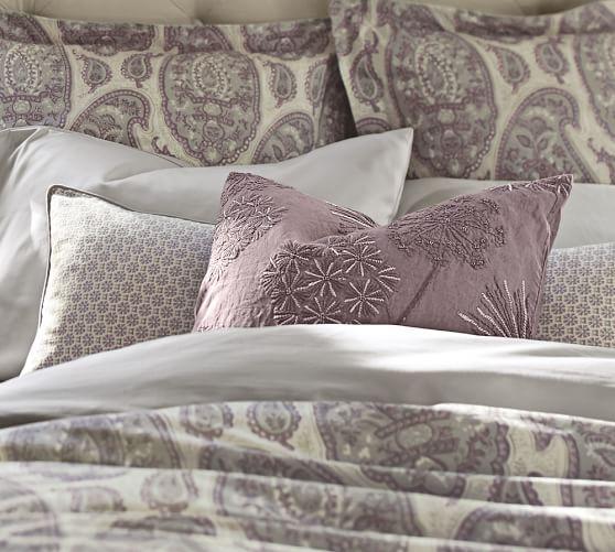 Grant Foulard Lumbar Pillow Cover, 14 x 36