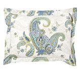 Annie Floral Organic Cotton Sham, Standard, Multicolor