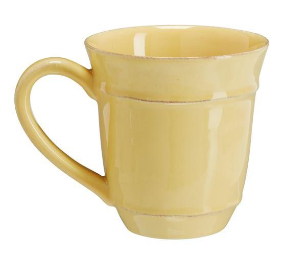 Cambria Mug, Set of 4, Butter