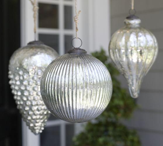 Oversized Mercury Ornament, Small Onion