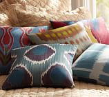 "Blue Circles 18"" Pillow Cover"