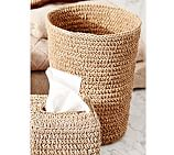 Crochet Weave Wastebasket