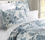 Paige Palampore Duvet Cover, Twin, Blue