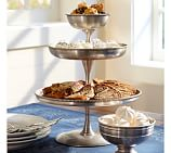 Antique Silver 3-Tier Stand