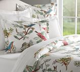Holiday Fauna Duvet Cover, Full/Queen, Multi