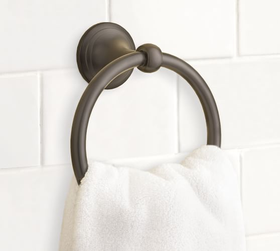 Mercer Towel Ring, Antique Bronze finish