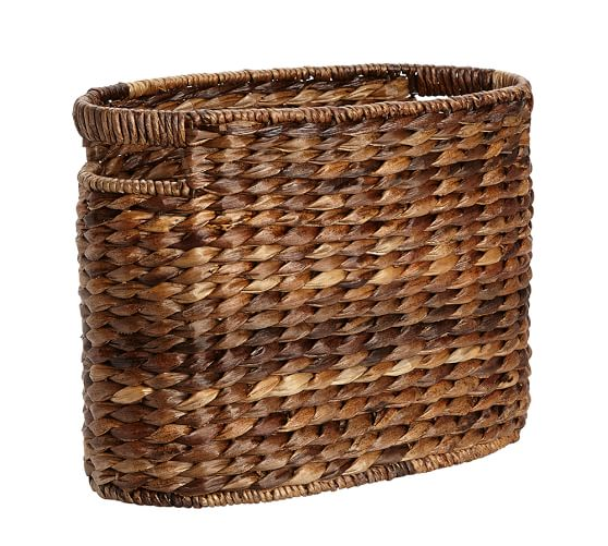 Havana Oval Magazine Basket