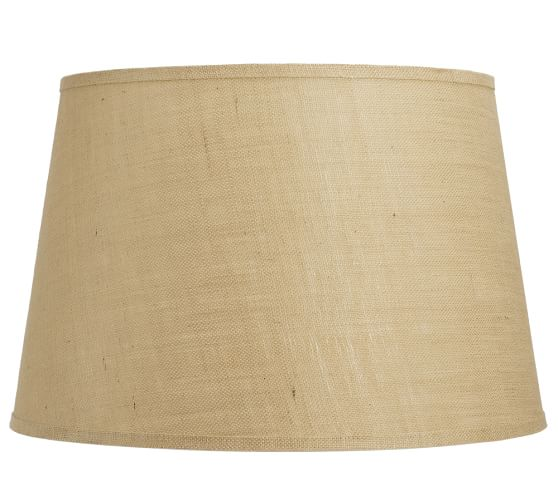 Tapered Drum Natural Weave Lamp Shade, Extra Extra-Large, Natural