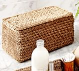 Crochet Weave Paper Storage Box