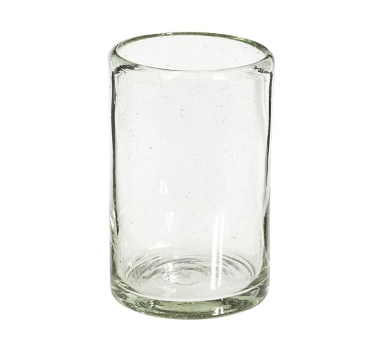 Recycled Glass Bath Tumbler, Clear