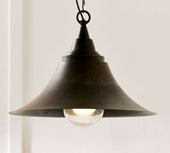 Barnard Pendant, Antique Copper finish