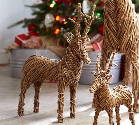 Rattan Reindeer, Medium