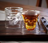 Skull Mouth-Blown Shot Glass