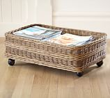 Jacquelyne Rattan Under Bed Basket