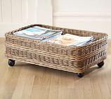 Jacquelyne Rattan Under Bed Basket