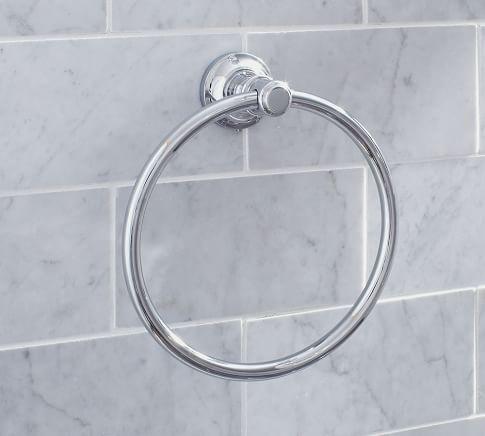 Hayden Towel Ring, Antique Bronze finish