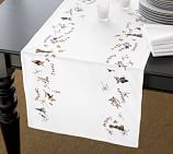 Reindeer Table Runner, 18 x 90