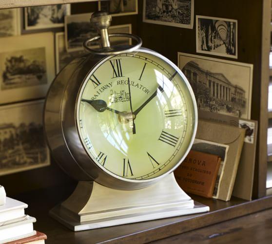 Navigation Clock, Extra-Large, Brass