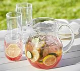 PB Classic Outdoor Pitcher, Clear