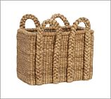 Beachcomber Seagrass Basket, Rectangular, Oversized