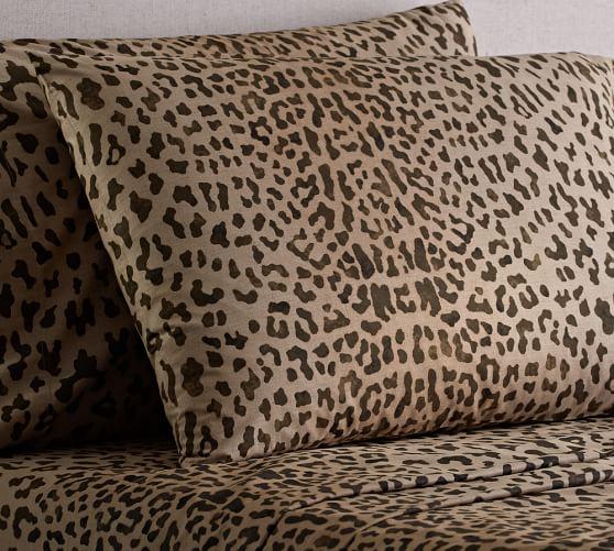 Leopard Sheet Set, Twin