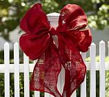 Red Ribbon Bow, Large, 36