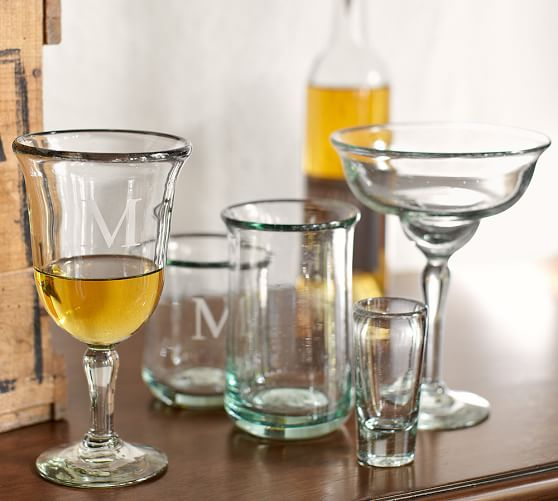 Casa Recycled Glassware Set Of 6 Pottery Barn
