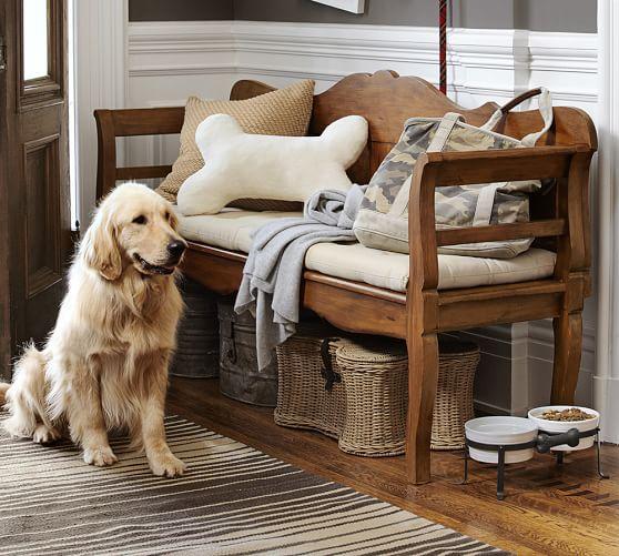 Pottery Barn Pet: Dog Bone Pet Bowl Stand