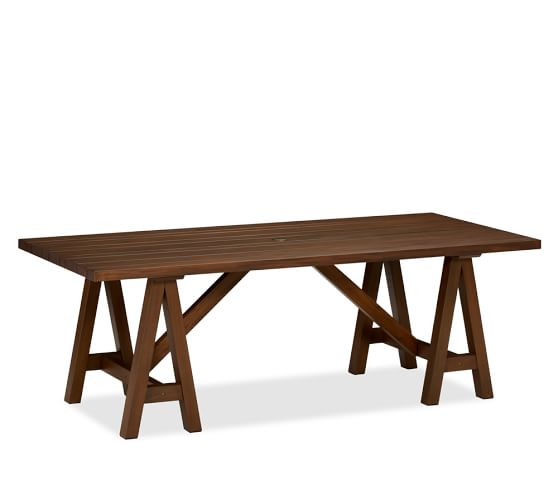 Chatham Rectangular Fixed Sawhorse Dining Table Pottery Barn : chatham rectangular fixed sawhorse dining table chair set c from www.potterybarn.com size 558 x 501 jpeg 14kB